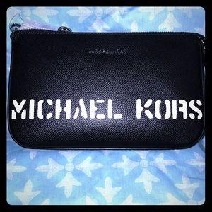 Michael Kors Logo Wristlet